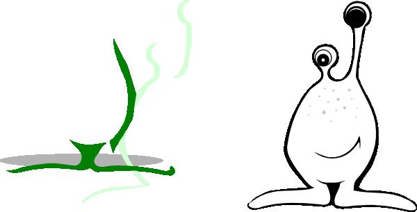 Black And White Alien Clip Art at Clker.com - vector clip art online ...