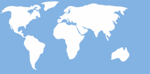 World Map For Wall Clip Art