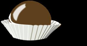 Chocolate Bon Bon Clip Art At Clker Com Vector Clip Art