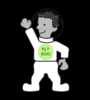 Eco Kid In  Spacesuit Clip Art