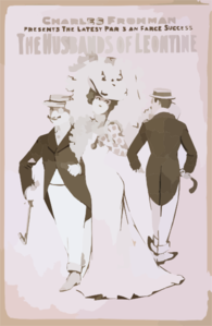 Charles Frohman Presents The Latest Parisian Farce Success, The Husbands Of Leontine Clip Art