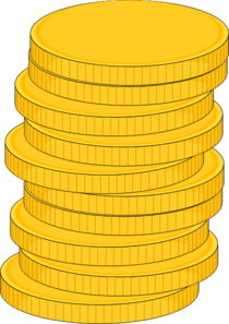Stack Of Coins Clip Art