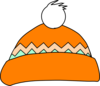 Orange And Green Hat Clip Art