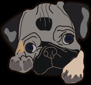 Boxer Dog Face Clip Art at Clker.com - vector clip art ...