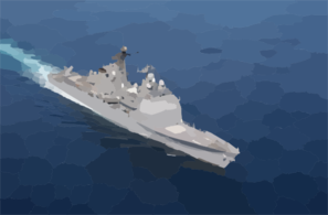 Uss Port Royal (cg 73) Clip Art