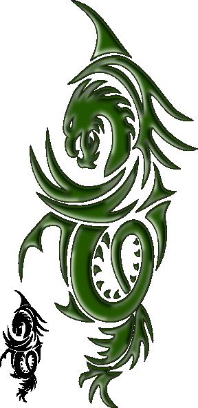 Dragon Green Clip Art at Clker.com - vector clip art ...