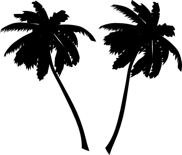 vector palm trees clip art at clker com vector clip art online rh clker com vector palm trees png vector palm trees illustrator