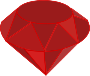 Ruby Gemstone Clip Art