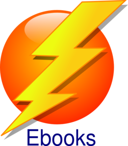 Ebooks Lightning Clip Art