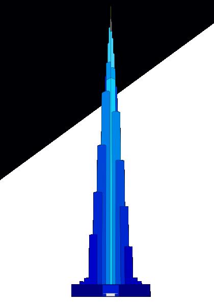 dubai building clip art at clkercom vector clip art
