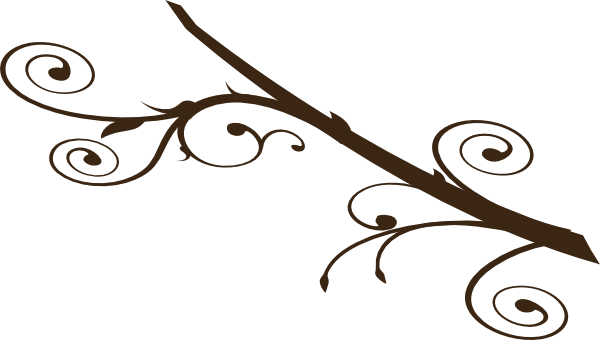 Dark Brown Branch Clip Art at Clker.com - vector clip art ...