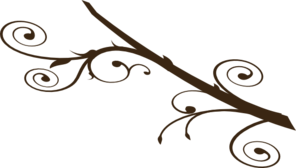 Dark Brown Branch Clip Art