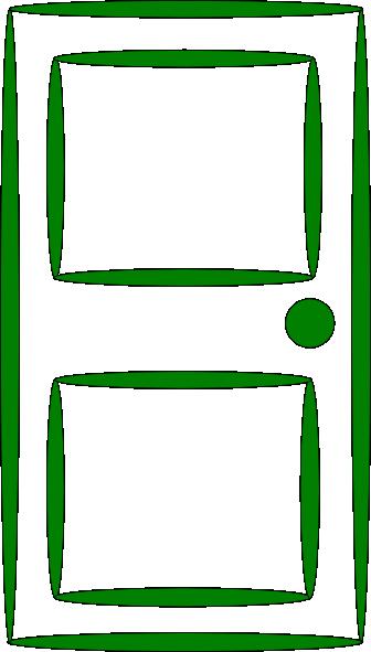 Door Green Clip Art at Clker.com - vector clip art online ...