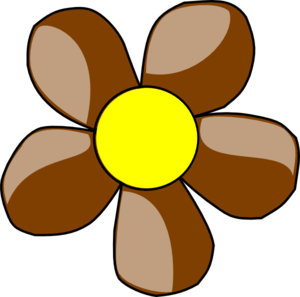 brown daisy clip art at clker com vector clip art online royalty rh clker com daisy clipart transparent daisy clipart black and white