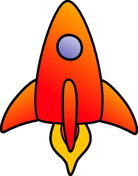 Vertical Rocket Clip Art at Clker.com - vector clip art online ...