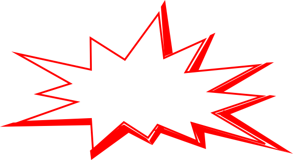 Download this image as Explosion Clip Art Transparent