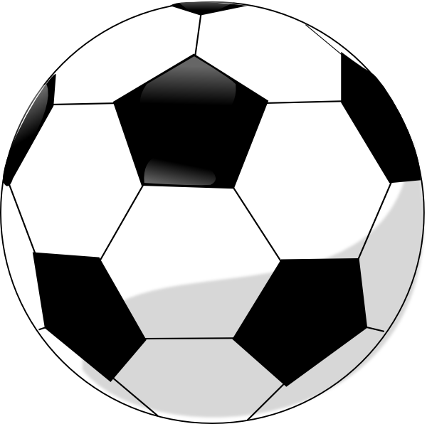 Soccer Ball Clip Art at Clker.com - vector clip art online, royalty ...: www.clker.com/clipart-soccer-ball-26.html