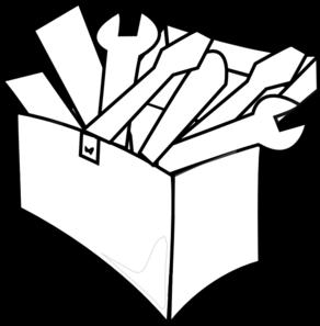 White Tool Box Clip Art at Clker.com - vector clip art online, royalty ...