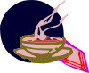 Bowl Of Hot Soup Clip Art
