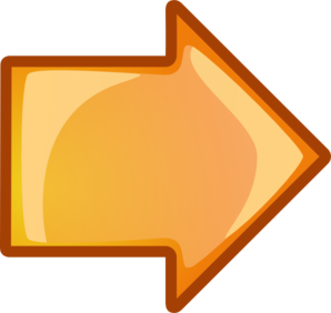 Orange Next Arrow Clip Art