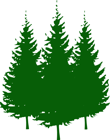 Pine Trees Clip Art at Clker.com - vector clip art online ...