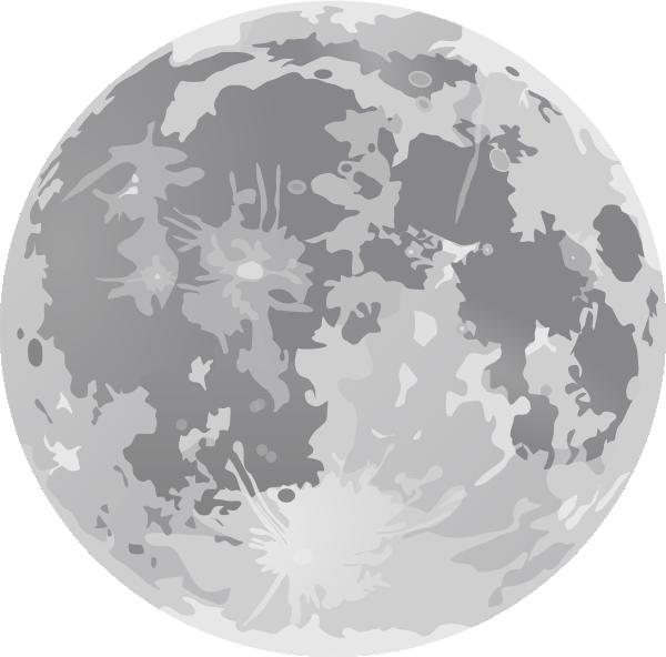 Light Full Moon Clip Art at Clker.com - vector clip art online ...