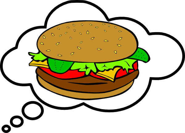 Hamburger Bubble Clip Art at Clker.com - vector clip art online ...