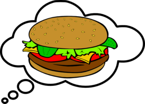 Hamburger Bubble Clip Art
