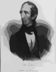 John Tyler, President Of The United States, 1841 Clip Art