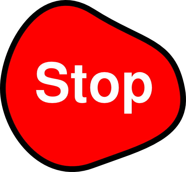 STOP_Stop Sign Clip Art at Clker.com - vector clip art online, royalty free public domain