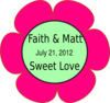 Faithmattflower2 Clip Art