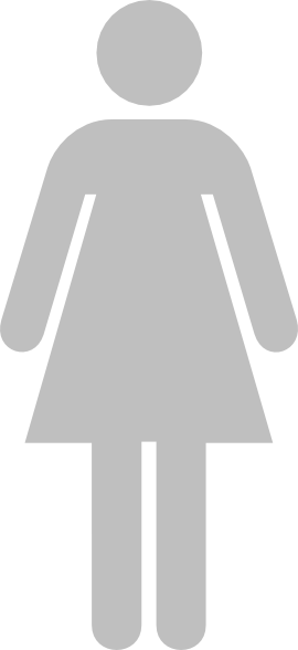 Ladies Bathroom Symbol Gray Clip Art At Clkercom Vector Clip Art - Ladies bathroom sign