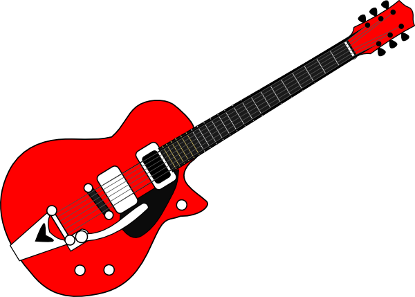 guitar clip art at clker com vector clip art online royalty free rh clker com guitar clip art black and white guitar clip art outline