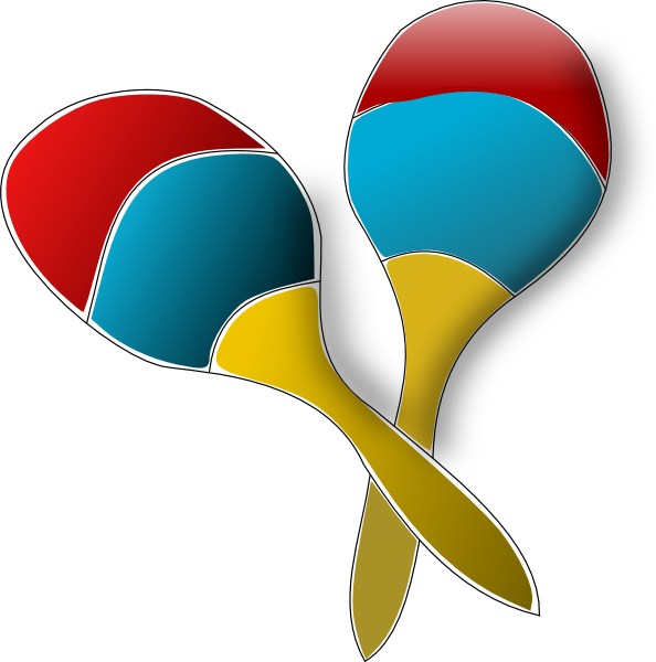 Clip Art Maracas Clipart maracas clip art at clker com vector online royalty download this image as