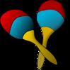 Maracas Clip Art at Clker.com - vector clip art online ...