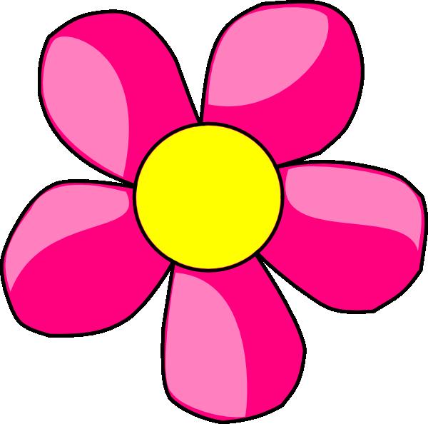 Pink Daisy Clip Art at Clker.com - vector clip art online ...