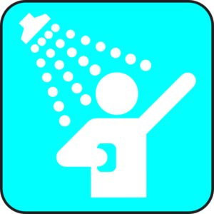Blue Shower Clip Art at Clker.com - vector clip art online, royalty ...