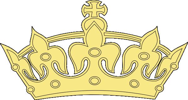 Golden Princess Crown Clip Art at Clker.com - vector clip ...