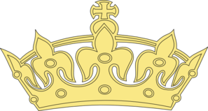 Golden Princess Crown Clip Art
