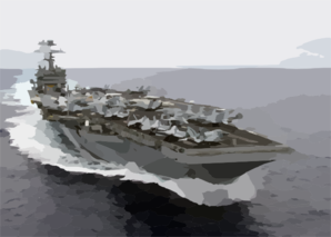 Uss Carl Vinson (cvn 70) Underway Clip Art