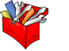 Red Toolbox Clip Art