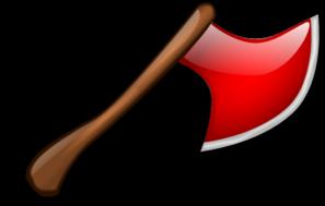 Red Axe Clip Art at Clker.com - vector clip art online ...