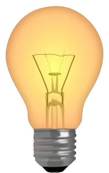 half lit lightbulb clip art at clker com