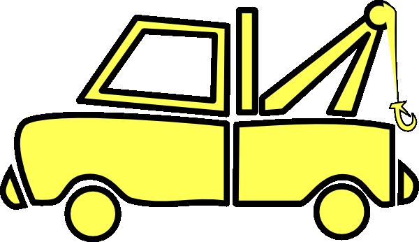 yellow truck clipart - photo #10