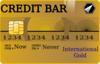 Credit Bar Clip Art