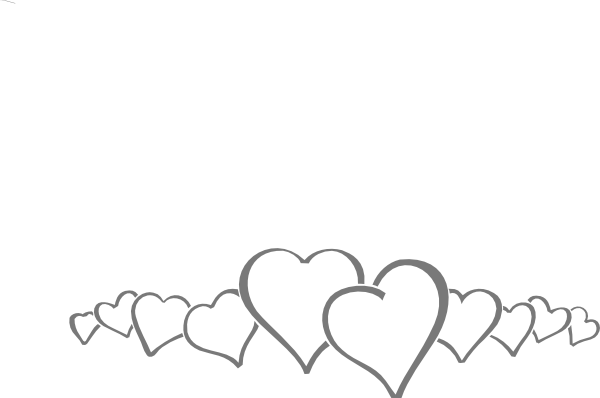 Line Art Of Heart : Hearts in a line clip art at clker vector