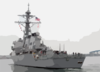Uss Fitzgerald Ddg 62 Departs For Deployment With Uss Nimitz Battle Group. Clip Art