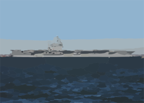 Uss George Washington (cvn 73) Departs Naval Station Norfolk, Va. On A Regularly Scheduled Deployment In Support Of The Global War On Terrorism. Clip Art