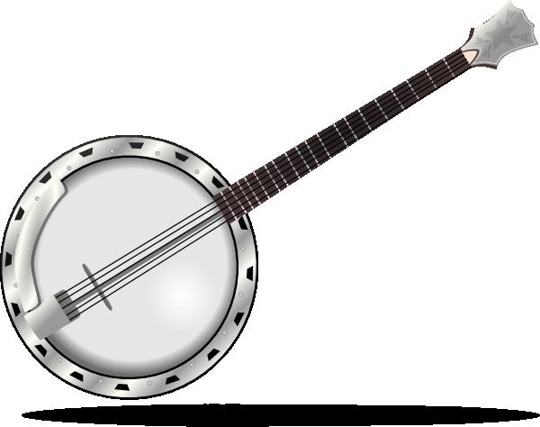 Banjo Clip Art at Clker.com - vector - 86.8KB