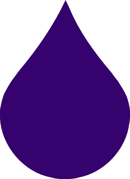 Purple Rain Drop Clip Art at Clker.com - vector clip art ...